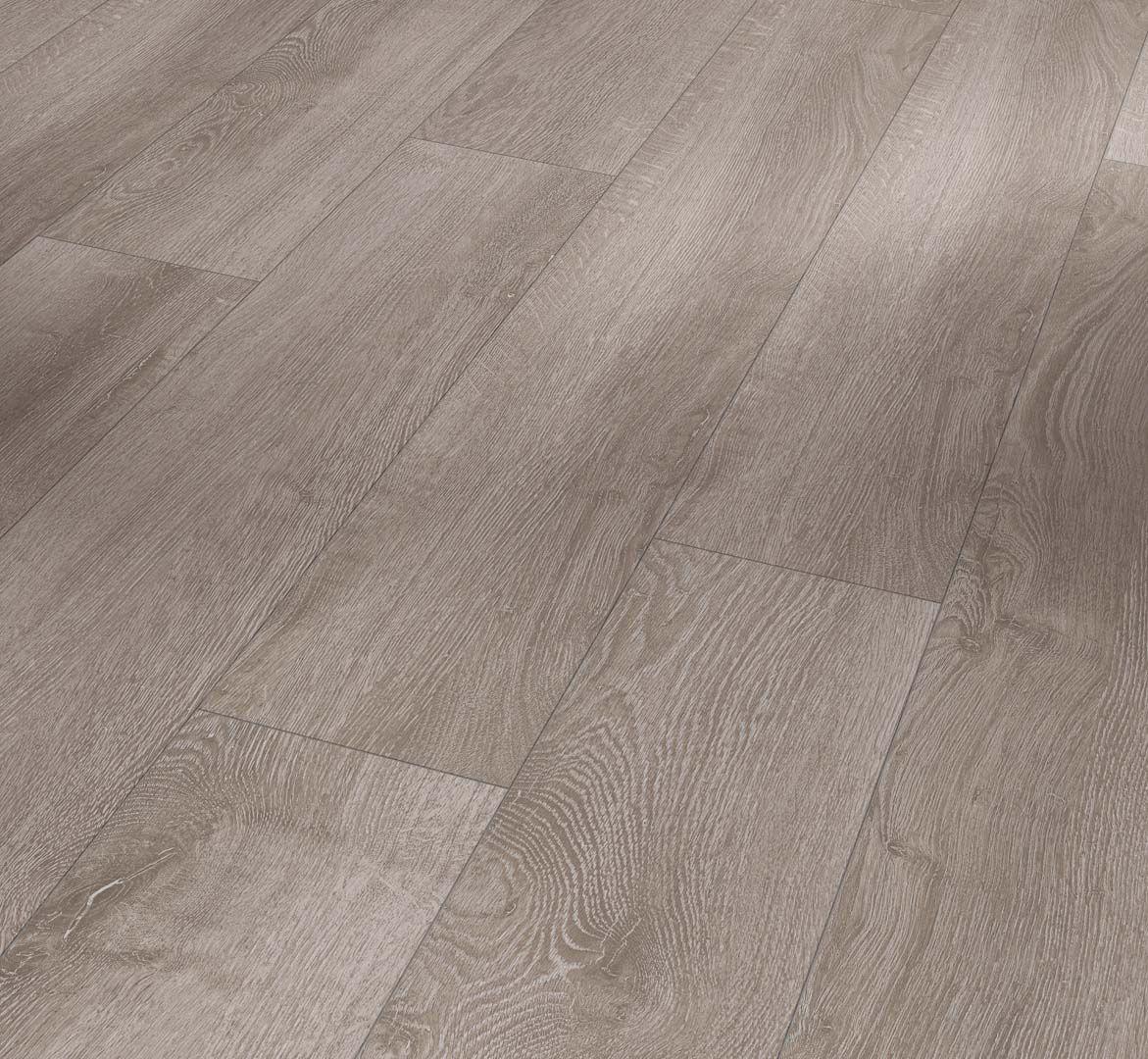 Parador Laminate Basic 400 Oak, Oak Light Grey Laminate Flooring