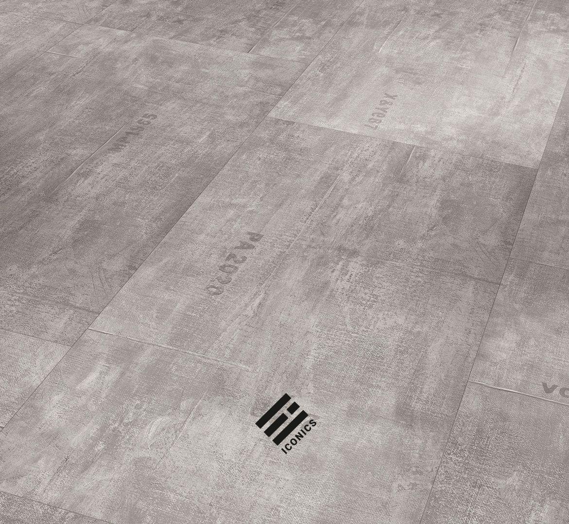 Industrial Canvas grey
