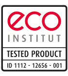 ECO Institut Tested Product 1112-12656-001