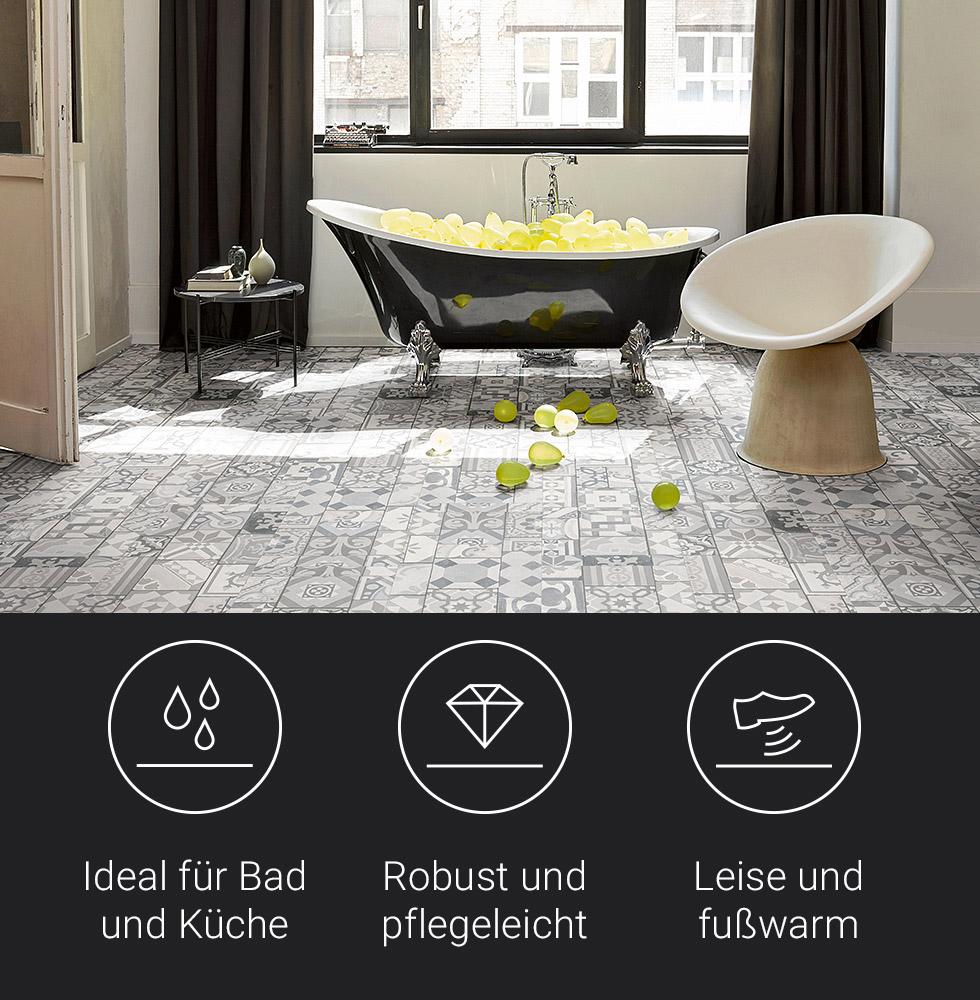 Resilient floor coverings